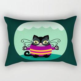 Cute black cat  Rectangular Pillow