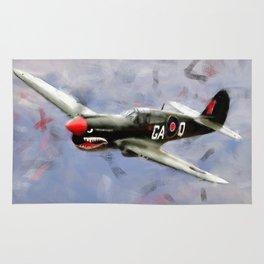 Curtis P-40 Rug