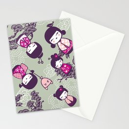 Japanese Doll Collection Stationery Cards