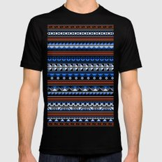 Tribality Andes Costa MEDIUM Black Mens Fitted Tee