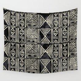 Tribal mud cloth pattern Wall Tapestry