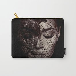 Girl with Hawk Carry-All Pouch