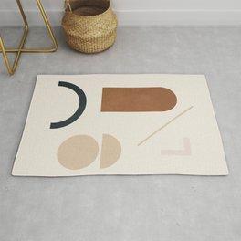 Geometric Modern Art 32 Rug