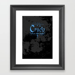 Harry Potter Curses: Crucio Framed Art Print