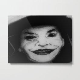 We're All Old Joker's Metal Print