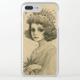 Star Child II Clear iPhone Case