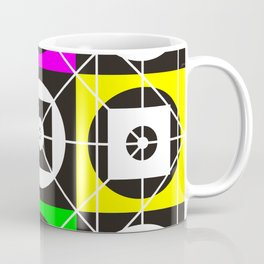Geometry of sex on the wall tapestry Coffee Mug