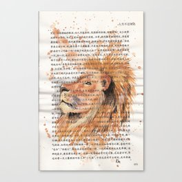 073 - Lion Canvas Print