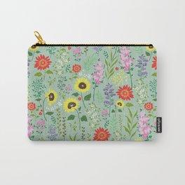 flower garden 2 Carry-All Pouch