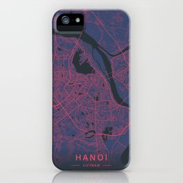 Hanoi, Vietnam - Neon iPhone Case