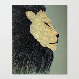 Atlas Lion Canvas Print