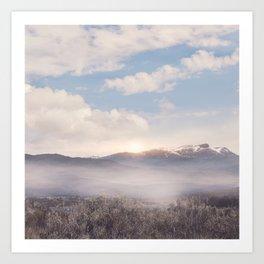 Sunrise v3 Art Print