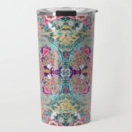 Mandala - Turquoise Boho Travel Mug