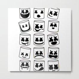 Marshmello Metal Print