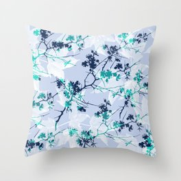 Leaves 09 Throw Pillow