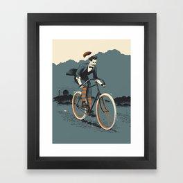 Chapeau! Framed Art Print