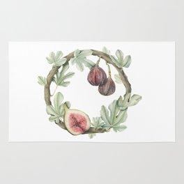 Fig Wreath Rug