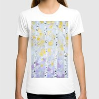 birch T-shirts featuring October Birch by Ann Marie Coolick