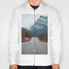 Rustic road #mountains #society6 Hoody
