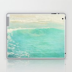 beach ocean wave. Surge. Hermosa Beach photograph Laptop & iPad Skin