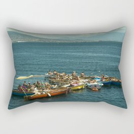 Neapolitan boat fest Rectangular Pillow