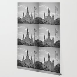 St. Louis Cathedral - Jackson Square, New Orleans Wallpaper