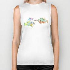 Fishes  Biker Tank