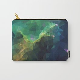 Galaxy low poly 3 Carry-All Pouch