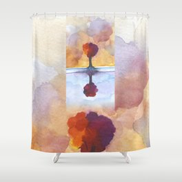 As Above So Below  No15 Shower Curtain