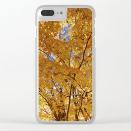 Falling into Light Clear iPhone Case