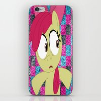 mlp iPhone & iPod Skins featuring Apple Bloom MLP by Maranda Rae