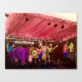The Marcus King Band Painting Canvas Print