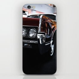 Car headlight 4 iPhone Skin