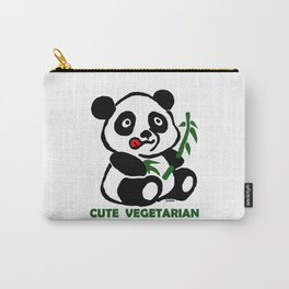 cute vegetarian Carry-All Pouch