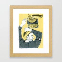 soldier Framed Art Print