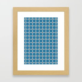 ponovan (blue) Framed Art Print