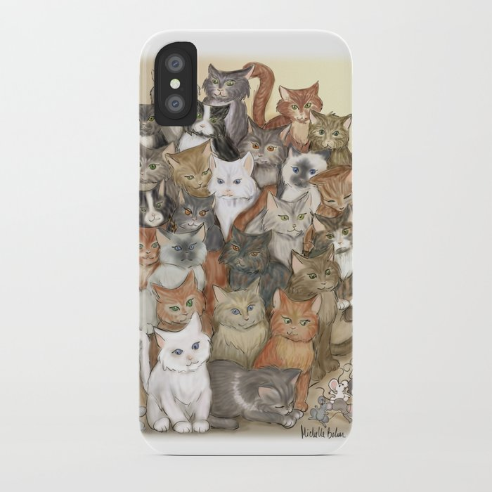 1000 cats iPhone Case