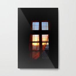 morning in my window Metal Print