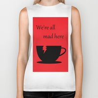 mad Biker Tanks featuring Mad by Crystal Granlund
