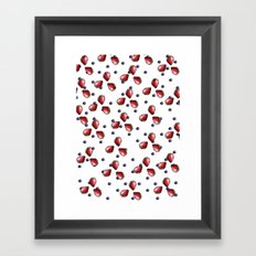 Berry Fields Framed Art Print