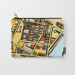 Abstract Map East Cambridge Carry-All Pouch
