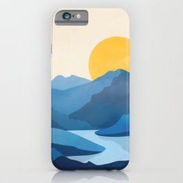 Minimalistic Landscape 10   iPhone Case