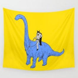 Dinosaur B Wall Tapestry