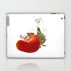 Strawberry splash Laptop & iPad Skin