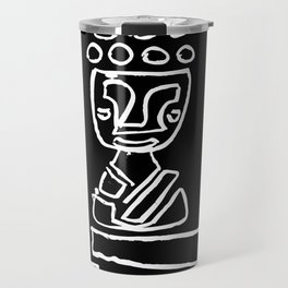 Candles with Buddha Travel Mug
