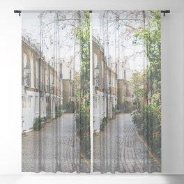 London, England 18 Sheer Curtain