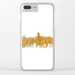 Annapolis, Maryland Skyline SG - Rust Clear iPhone Case
