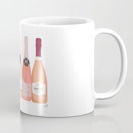 Rose Champagne Bottles Coffee Mug