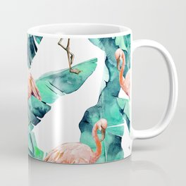 Tropical Flamingo Coffee Mug