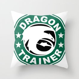 Dragon trainer Throw Pillow